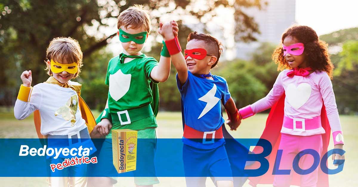 10 de las vitaminas esenciales para los niños y sus beneficios.