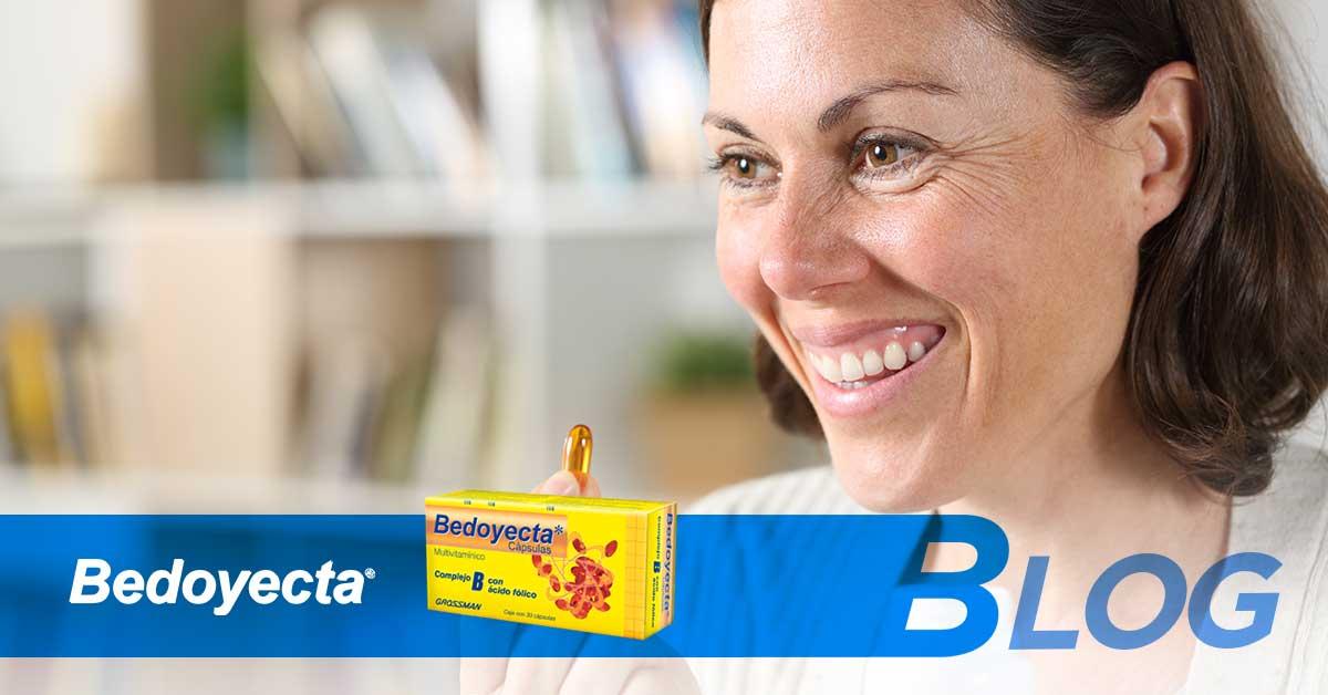 ¿Cuáles vitaminas tomar de acuerdo con tu edad?