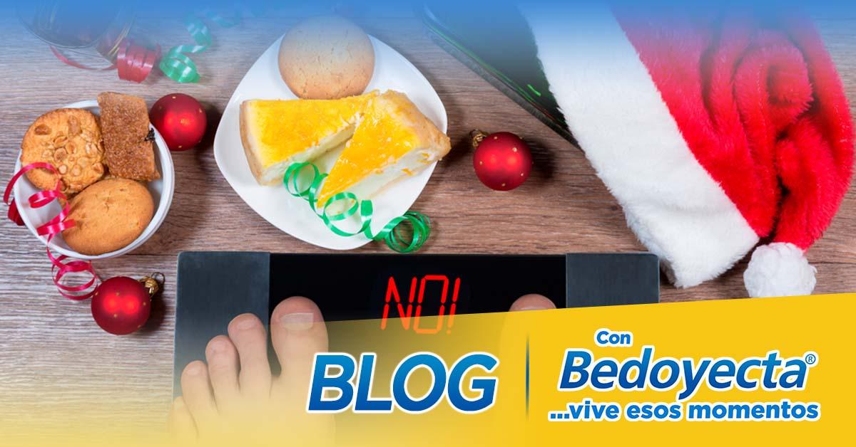 ¿Cómo evitar subir de peso en la época navideña?
