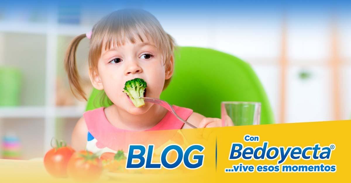 ¿Cómo hacer que mi hijo coma verduras?